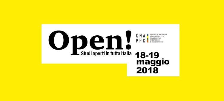 OPEN! Studi aperti in tutta Italia